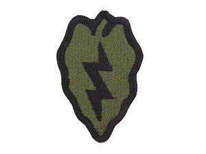 25th Infantry Division Army Patch Subdued |Embroidered Patch | Sold individually