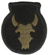 34th Infantry Division Army Patch Subdued|Embroidered Patch | Sold individually