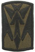 35th Infantry Division Army Patch Subdued|Embroidered Patch | Sold individually