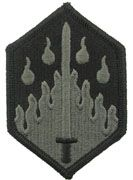 48th Chemical Brigade Patch ACU w/ Hook Fastener