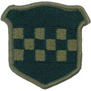 99th Regional Readiness Command Army Patch Subdued |Embroidered Patch | Sold individually