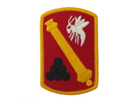 113th Field Artillery Brigade Army Patch Regular | Full Color Sew On Military Uniform Patch|Sold Individually