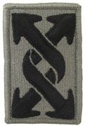143rd Transportation/Sustainment Command Army Patch ACU With Hook & Loop Price per set of 2