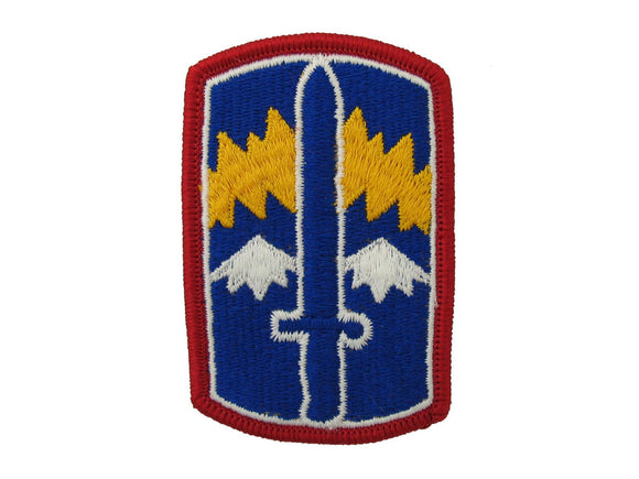 171ST INFANTRY FULL COLOR SEW ON ARMY PATCH