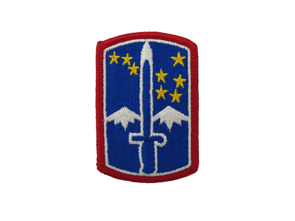 172nd INFANTRY BRIGADE Regular | Full Color Sew On Army Patch