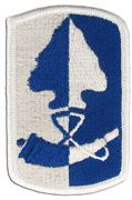 187th Infantry Full Color Sew On Army Patch