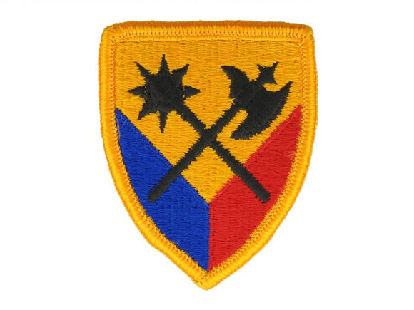 194th Armor Brigade Army Patch Regular | Full Color Sew On Military Uniform Patch|Sold Individually