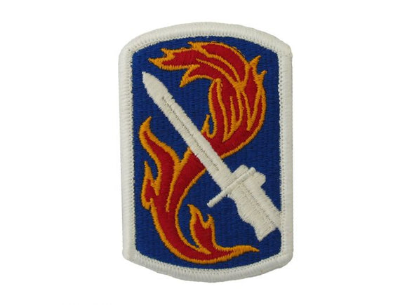 198th Infantry Brigade Army Patch Regular | Full Color Sew On Military Uniform Patch|Sold Individually