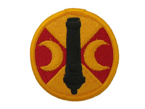 210th Field Artillery Brigade Army Patch Regular| Full Color Sew On Military Uniform Patch| Sold Individually