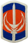 228th Signal Brigade Full Color Sew On Patch