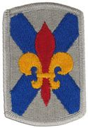 256th Infantry Brigade Full Color Sew On Patch