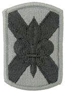 256th Infantry Brigade ACU w/ Hook & Loop Patch