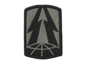 335TH SIGNAL BRIGADE ACU W/ HOOK AND LOOP ARMY PATCH