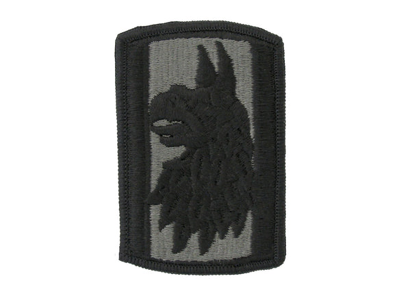 470th Military Intelligence ACU w/ Hook & Loop Patch
