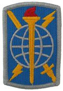 500th Military Intelligence Bridgade Full Color Sew On Patch