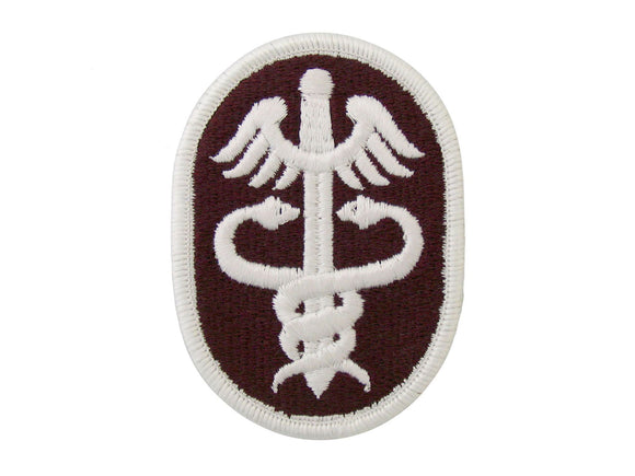 US ARMY HEALTHSERVICE COMMAN FULL COLOR SEW ON PATCH