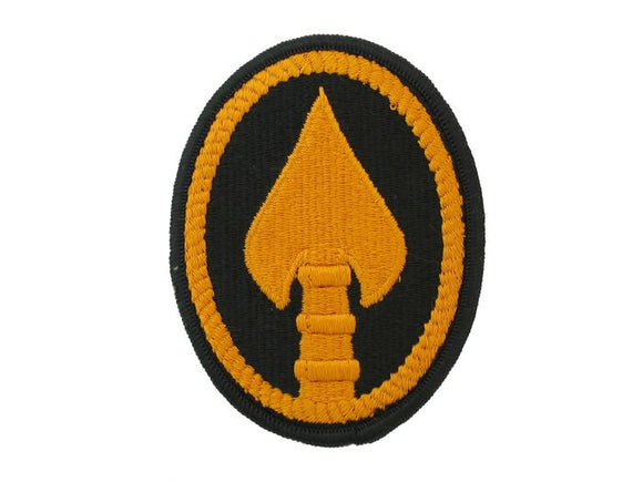 US Army Special Operations Command Army Patch Regular |Full Color Sew On Black and Gold Patch | Sold Individually