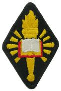 CHAPLAIN CENTER AND SCHOOL REGULAR FULL COLOR ARMY SEW ON PATCH