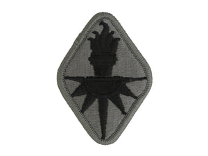 INTELLIGENCE CENTER AND SCHOOL ACU W/ HOOK AND LOOP ARMY PATCH