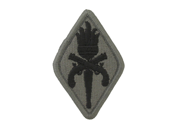 MILITARY POLICE SCHOOL ACU W/ HOOK AND LOOP ARMY PATCH