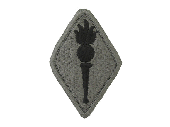 ORDNANCE CENTER AND SCHOOL ACU W/ HOOK AND LOOP ARMY PATCH. Sold Individually