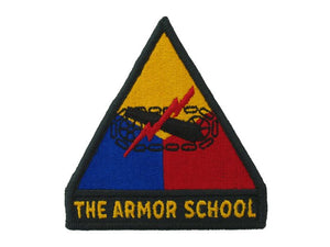 ARMOR SCHOOL WITH TAB REGULAR FULL COLOR SEW ON PATCH
