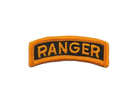 ARMY TAB - RANGER FULL COLOR SEW ON TAB - Sold in Pairs