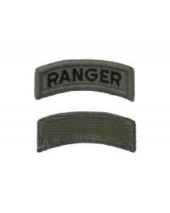 ARMY TAB - RANGER SUBDUED SEW ON TAB - Sold in Pairs