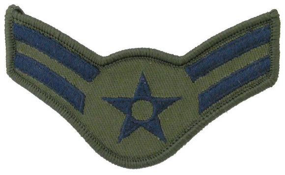 Airman First Class Female Sew-On Subdued Air Force Chevron