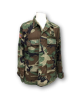 US Army Military Camo Hot Weather Jacket with Patches Airborne Master Sergeant Vintage 1999