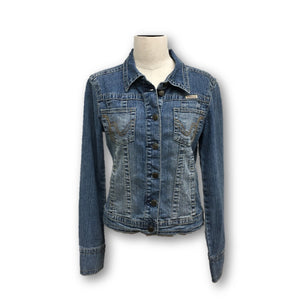 HYDRAULIC - Jean Jacket Size Medium Juniors Sizing See Measurements