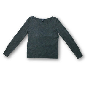 LANDS END - Gray Cashmere Sweater for Women Size Extra Small