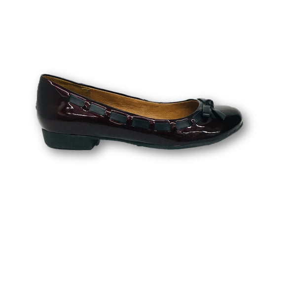 SOFFT - Ballet Flat Maroon Red Shoes - Size 6 1/2 Medium