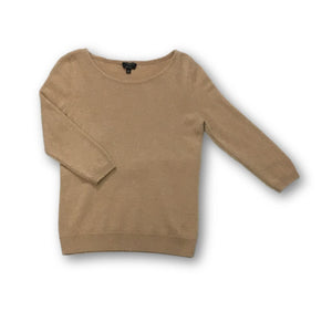 TALBOTS - Camel Color Cashmere Sweater for Women Size Small Petite