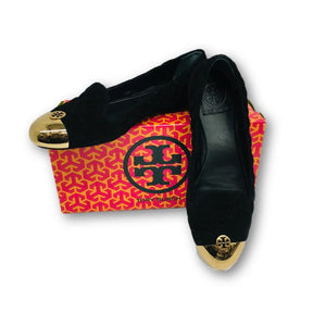 TORY BURCH SHOES - Kaitlin Smoking Slipper Black Size 8 Style No. 22138379