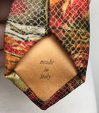 Tino Cosma Necktie 100% Silk Made In Italy