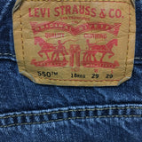 LEVIS 550 for BOYS Relaxed Fit Size 18 Reg