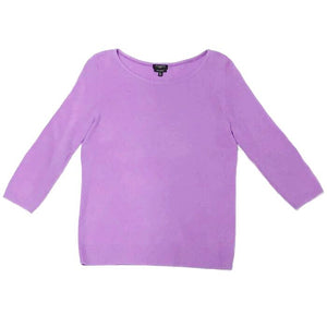TALBOTS - Purple Cashmere Sweater for Women Size Small Petite