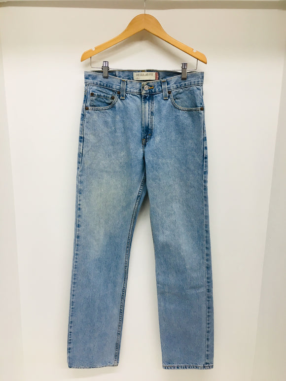 LEVIS 505 Vintage Light Wash Jeans Size 30x34