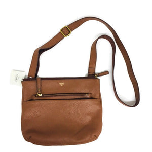 FOSSIL Handbag Tessa Cross Body Medium Brown NWT