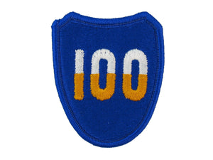 100th Army Infantry Division Training Full Color Sew On Patch