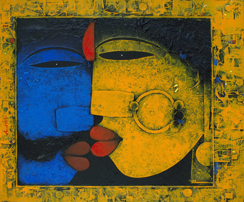 Banolata|Basuki Dasgupta- Mixed Media on Canvas, 2013, 24 x 36 inches