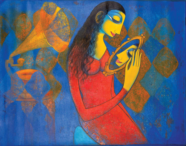 Shurngaar|Prakash B. Deshmukh- Acrylic on Canvas, 2013, 35 x 46 inches