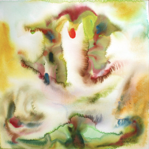 Ganesha 17|N.S. Manohar- Water colour on Board, 2012, 21.5 x 21.5 inches