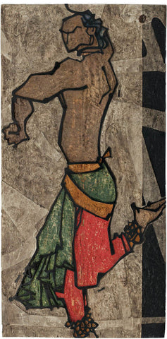 Performer 320|S. Mark Rathinaraj- Wood Carving, , 48 x 24 inches