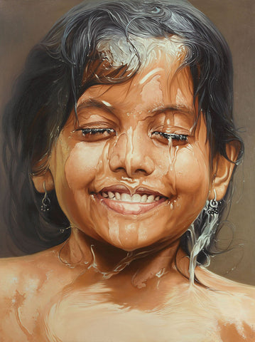Bliss 6|B. Venkatesan- Oil on Canvas, 2014, 48 x 36 inches