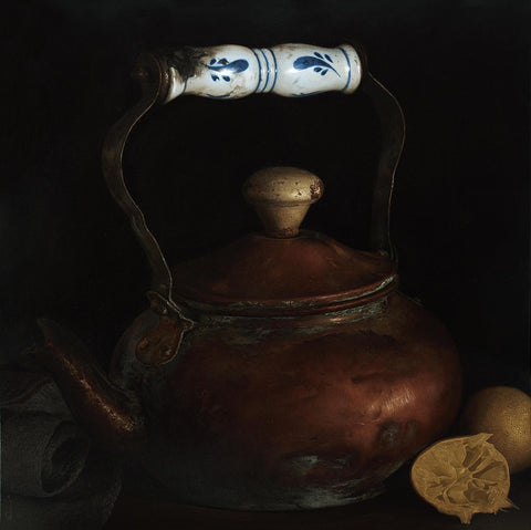 Still Life 4|B. Venkatesan- Oil on Canvas, 2016, 36 x 36 inches
