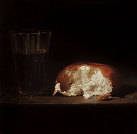 Still Life 1|B. Venkatesan- Oil on Canvas, 2014, 24 x 24 inches