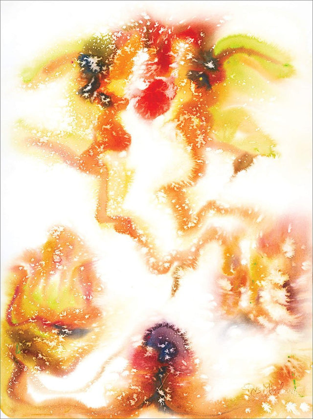 Ganesha 26|N.S. Manohar- Water color on board, 2012, 30 x 22 inches
