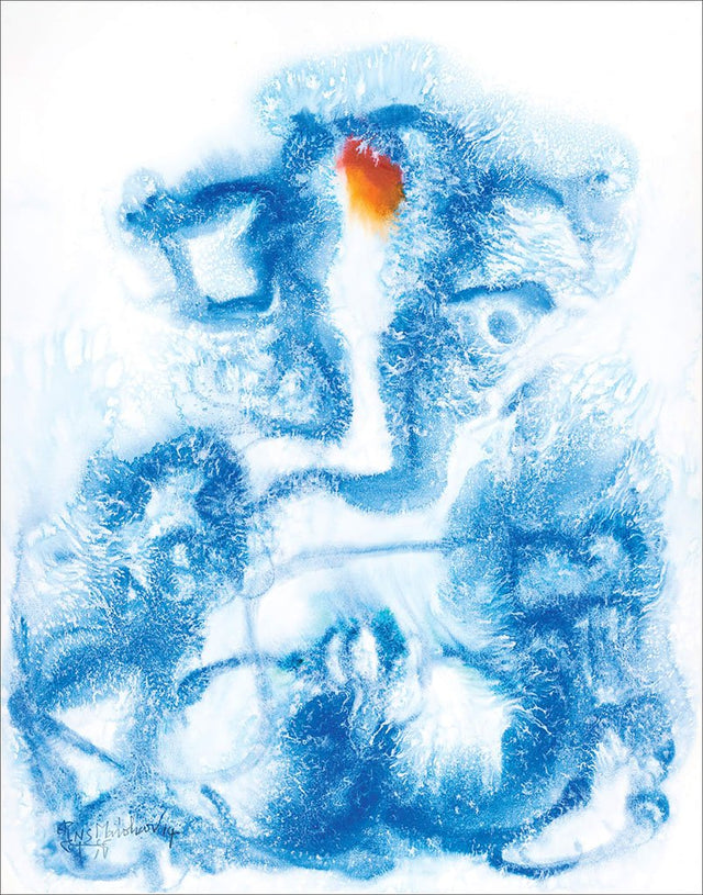 Ganesha 27|N.S. Manohar- Water color on board, 2014, 30 x 22 inches